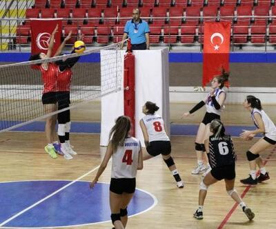 Burdur'da voleybol fırtınası