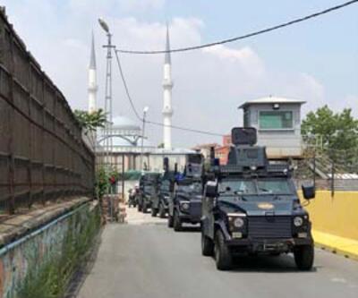 İstanbul'da özel harekat destekli asayiş denetimi