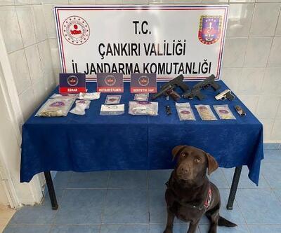 Çankırı'da uyuşturucuya 3 tutuklama