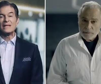 Haluk Bilginer ve Dr. Mehmet Öz herkesi Kovid-19'a karşı aşılanmaya çağırdı