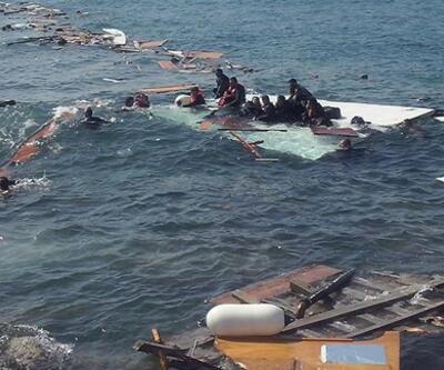 Yemen açıklarında tekne alabora oldu