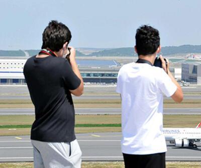 Türkiye'nin ilk resmi spotter alanı İstanbul Havalimanı'nda kuruldu