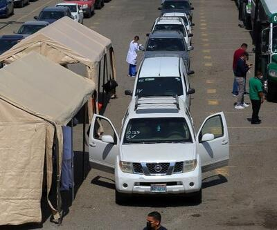 Meksika'da hastane otoparkları yataklı servislere dönüştürülecek