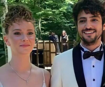 Nikahtan ilk görüntüler geldi! Taner Ölmez ve Ece Çeşmioğlu evlendi