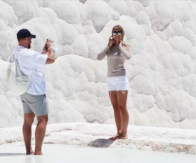 Beyaz travertenleriyle doğa ve tarihin buluştuğu yer!