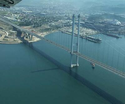 Marmara Denizi'ndekimüsilajın son durumu havadan görüntülendi