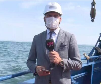 Bilim-2 gemisi Marmara'da son seferini yaptı... CNN TÜRK ODTÜ gemisinde