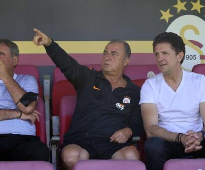Hagi ve Popescu Florya'da
