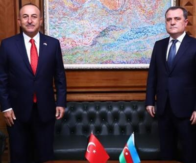 Bakan Çavuşoğlu, Azerbaycanlı mevkidaşı ile görüştü