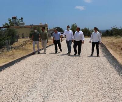 Başkan Altunok'a asfalt teşekkürü