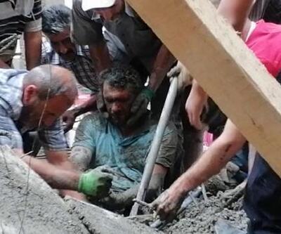 İnşaatta çökme: 3 işçi enkaz altından çıkarıldı
