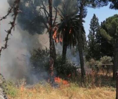 Tarihi Sümerbank fabrikasında yangın çıktı