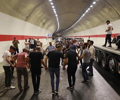 Salarha Tüneli'nin tamamlanması sevince boğdu