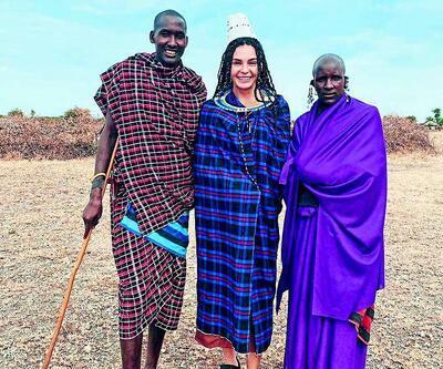 Ebru Şahin ve Cedi Osman Masai Kabilesini ziyaret etti!