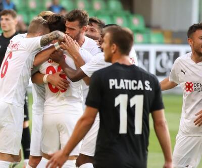 Sivasspor Avrupa'ya galibiyetle başladı