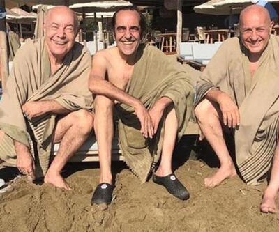 '20 yıl sonra ilk defa üçümüz birlikte yüzdük'