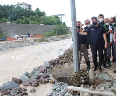 Karadeniz'de sel: Tedbir almaya devam edeceğiz