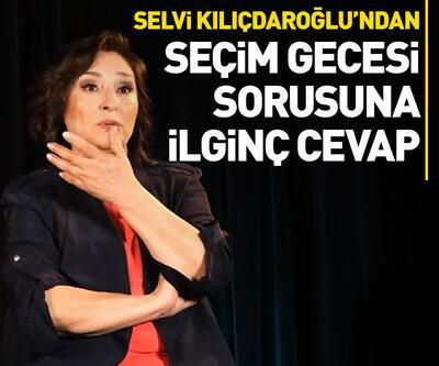 Selvi Kılıçdaroğlu'ndan seçim gecesi sorusuna ilginç cevap