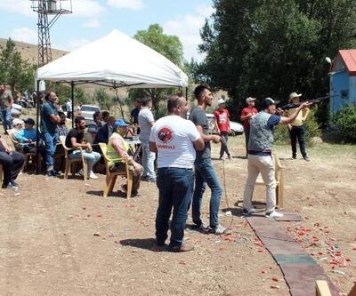 Yozgatlı avcılar düzenlenen yarışmalarda becerilerini sergiledi