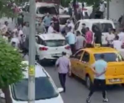 Kaza yapan sürücüye linç
