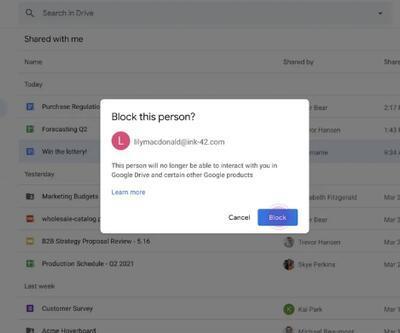 Google Drive yeni güvenlik özellikleri ekliyor