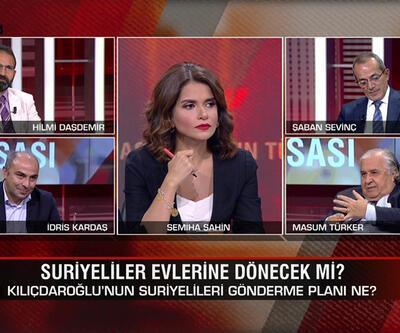 CHP'nin Suriyelileri gönderme planı ne? Suriyelilerin oylara etkisi ne? HDP İmamoğlu'nu mu istiyor? CNN TÜRK Masası'nda konuşuldu