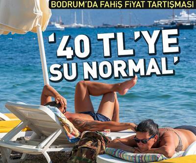 """40 liraya su normal"" açıklaması"