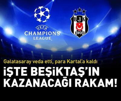 Beşiktaş'ın Şampiyonlar Ligi'nden kazanacağı rakam!