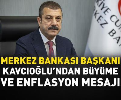 Kavcıoğlu'ndan 'büyüme' ve 'enflasyon' açıklaması