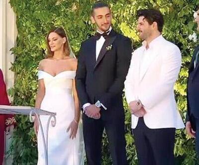 Almeda Abazi'nin kardeşi İlda Abazi, Kenan Sipahi ile evlendi