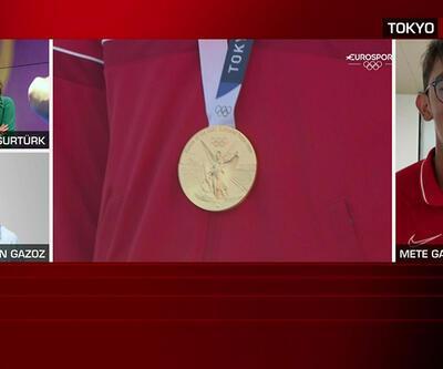 Mete Gazoz ve babası, madalyaya giden yolu CNN TÜRK'te anlattı