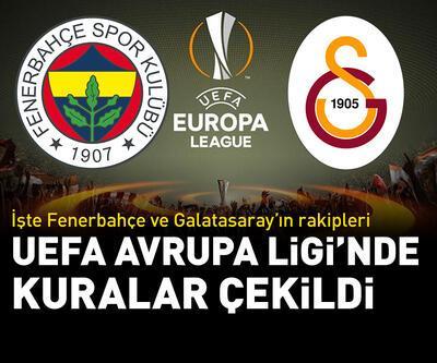 Fenerbahçe ve Galatasaray'ın UEFA Avrupa Ligi'ndeki rakipleri belli oldu!