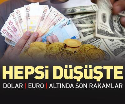 Piyasalarda son durum ne? Altın, dolar ve euro düşüyor...