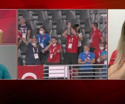 Madalya kazanan ilk Türk kadın güreşçi Yasemin Adar CNN TÜRK canlı yayınında duygu dolu anlar yaşadı