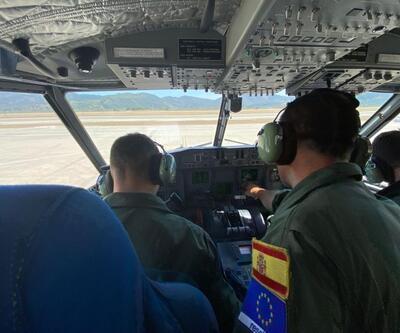 İspanya'dan yangınlar için 2 uçak yolda