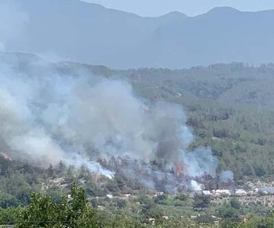 Hatay Dörtyol'da orman yangını