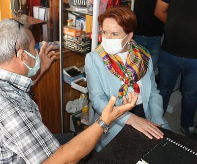 Akşener'e Çankırı ziyaretinde 'HDP' tepkisi