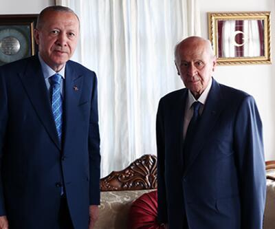 Son dakika... Cumhurbaşkanı Erdoğan'dan MHP lideri Bahçeli'ye ziyaret