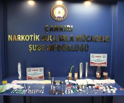 Çankırı'da uyuşturucuya 2 tutuklama