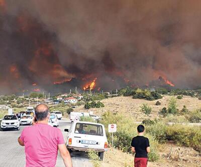"""Orman yangınları büyük tahribat yarattı! """"2 saat ölümü ensemizde hissettik"""""""