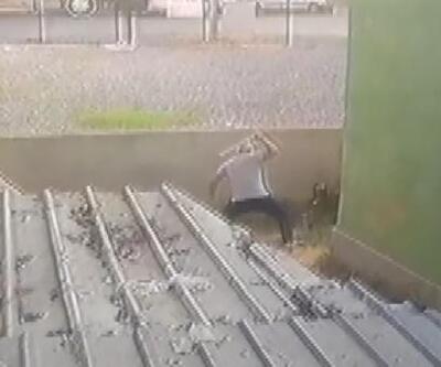 Köpeği öldüresiye döven kişi: Tavuğu almaya çalışırken bana saldırdı