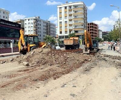 Siirt'te altyapı çalışmaları devam ediyor