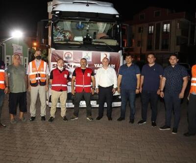 Darıca'dan sel bölgesine yardım gönderildi