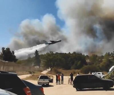 Yunanistan'da orman yangınlarına müdahale sürüyor