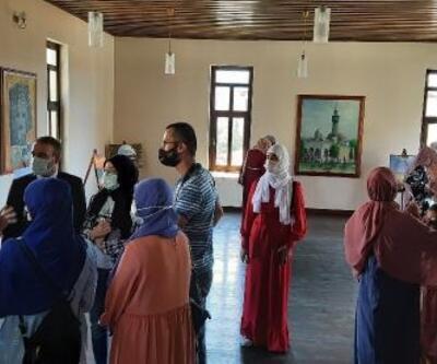Boşnak öğrencilerden İznik'e ziyaret