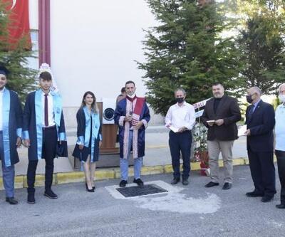 Çay MYO'da mezuniyet töreni