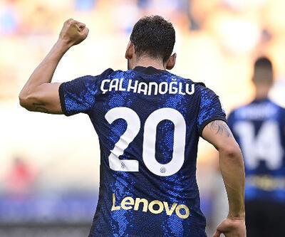 Son dakika... Hakan Çalhanoğlu Inter'de ilk maçında şov yaptı!