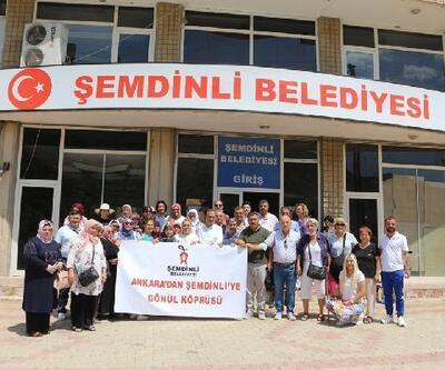 Ankara'dan Şemdinli'ye 'Gönül Köprüsü'