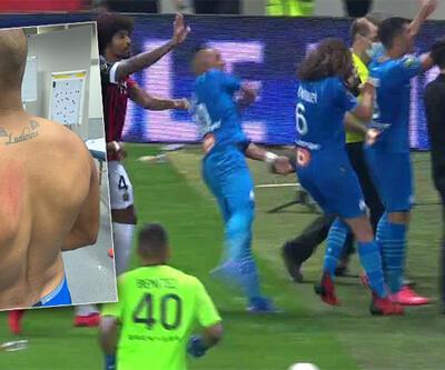 Marsilyalı futbolcular yaralandı