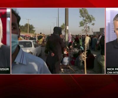Tahliyenin bitmesine 5 gün kaldı... CNN International muhabiri Afganistan'daki son durumu aktardı